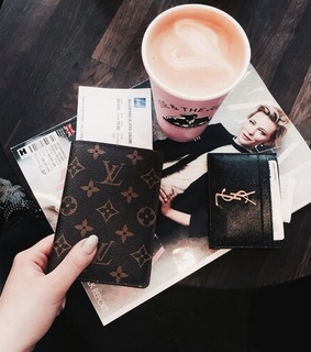 accessories, coffee and fashion