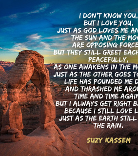 endurance, poet and suzy kassem