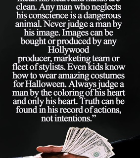actors, conscience and costumes
