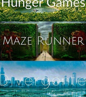 divergent, the and the hunger games