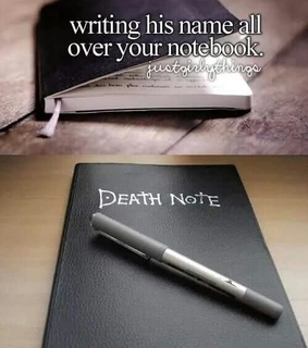 death note, funny and girl