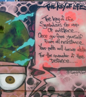 Suzy Kassem wall, Suzy Kassem street art and suzy kassem poetry