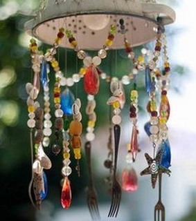 Upcycled Wind Chimes, Wind Chime Crafts and Wind Chime Projects