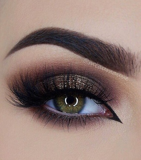 inspire, glamour and eyebrow
