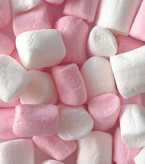 candy, marshmellows and pink