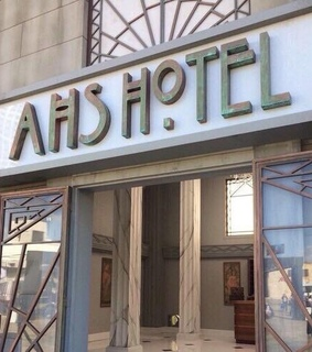 ahs hotel, story and horror