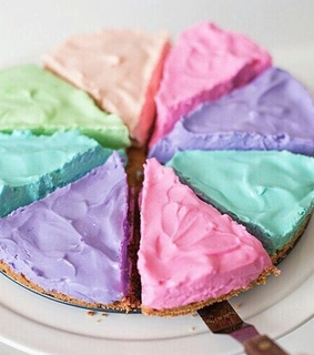 yummy, light colors and pastel