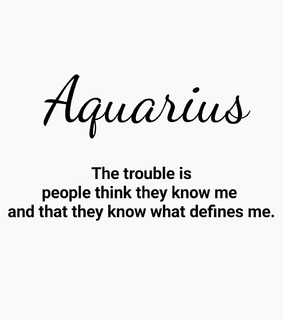 aquarius, traits and horoscope
