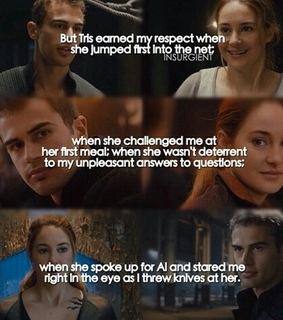 tris prior, tobias eaton and four