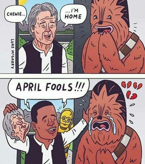 april fools, funny and star wars
