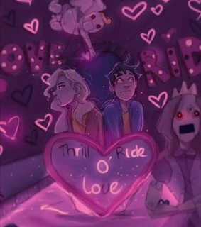 percy, percabeth and lightning