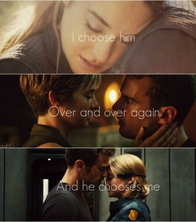 tris, shailene and tobias eaton