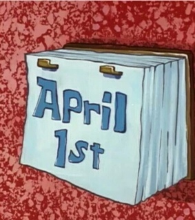pranks, april 1 and new month