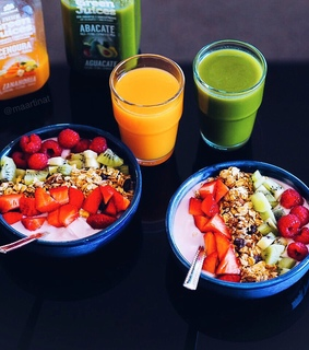 healthy, fitfood and green juice