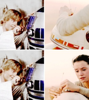 the force awakens, daisy ridley and a new hope