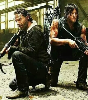 amigos, daryl and twd