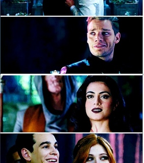 magnus, clary and maleç