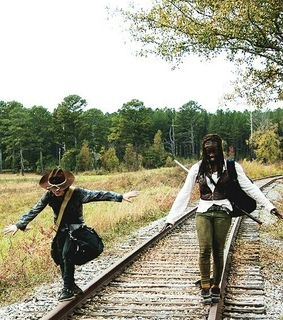 serie, twd and michonne