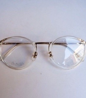 glasses, life and round