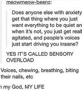 anxiety, tumblr and tumblr post