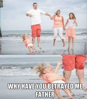 betrayed, child and dad