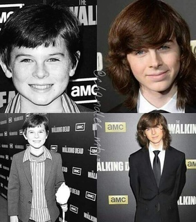 chandler riggs and the walking dead