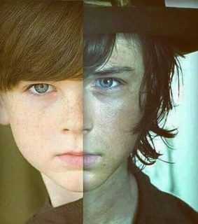 chandler riggs, the walking dead and calr grimes