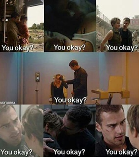 books, divergent and four