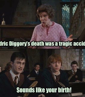 cedric diggory, dolores umbridge and goblet of fire