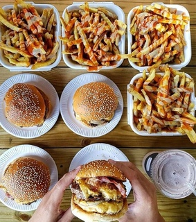 burger, delicious and eat