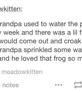 cute, frog and grandpa