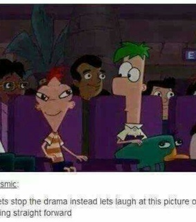 brilliant, ferb and funny