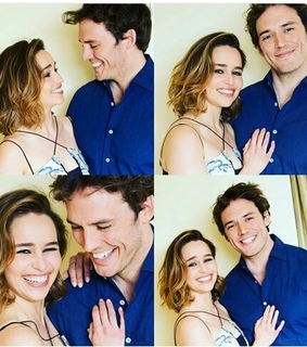 emilia clarke, finnick odair and game of thrones
