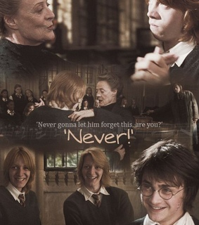 fred and george weasley, funny and harry potter