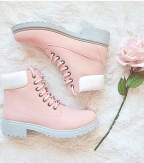botas, coturno and pink