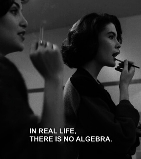 algebra, black and white and real life