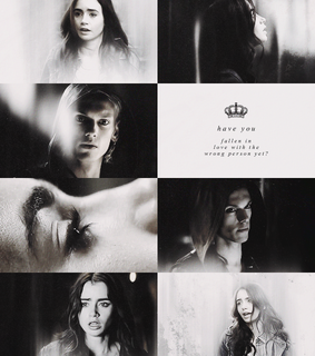 city of bones, clary and jace herondale