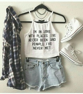 fashion, jeans and look