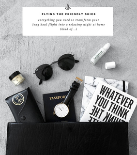 carry on, fashionlush and flat lay