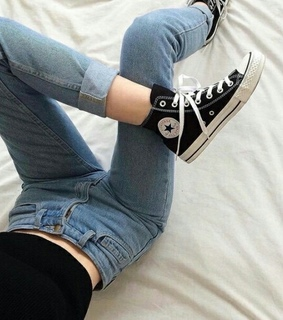 buty, converse and fashion
