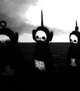 black, infancia and teletubbies