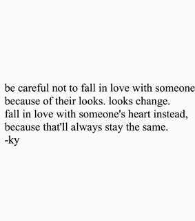 appearance, be careful and careful