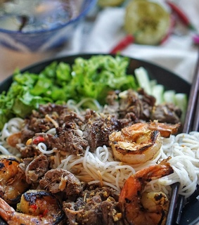 asian food, beef and chilli