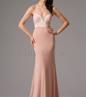 evening wear, mermaid prom dress and new