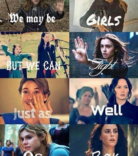 divergent, girl and harry potter