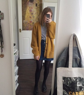 girl, grunge and mirror