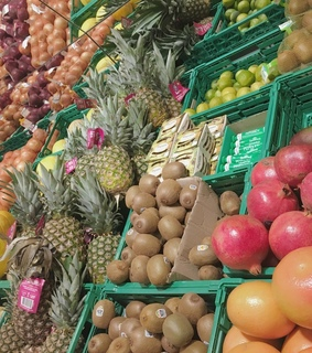 ananas, fruit and healthy