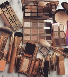 eyeshadow, makeup and makeup brushes