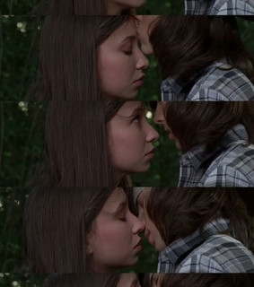 carl grimes, enid and kiss