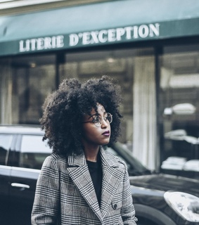 afro hair, fashion and frizz
